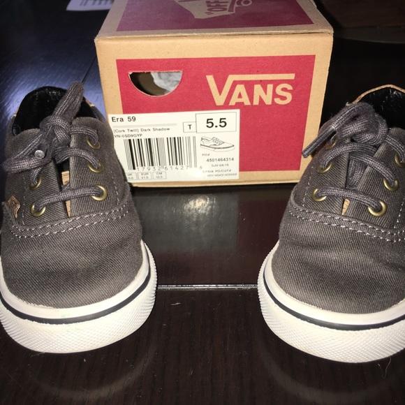 Toddler Vans size 5.5 954bc6656